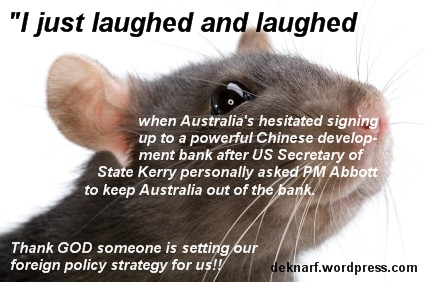 Foreign Policy Rat
