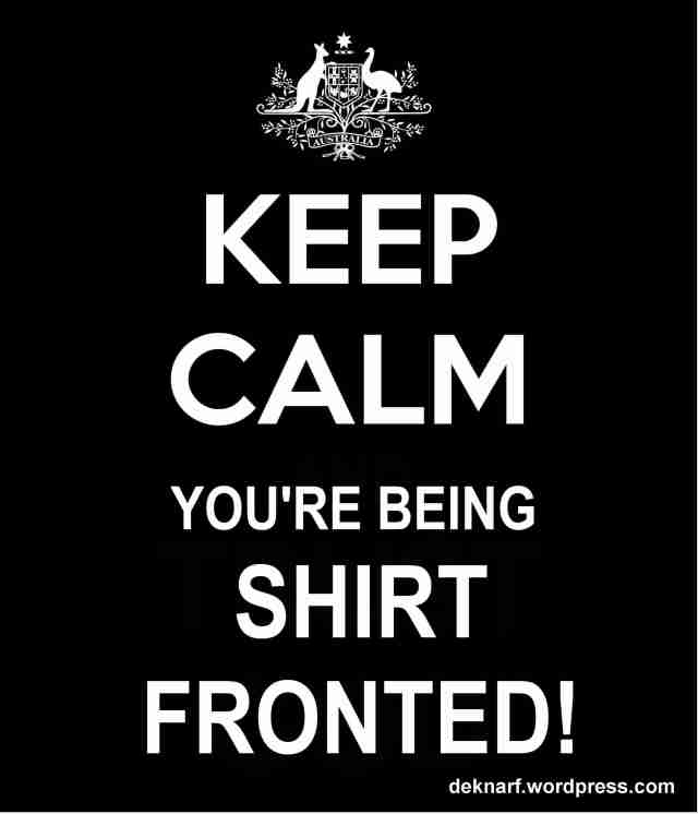 Keep Calm Shirtfront
