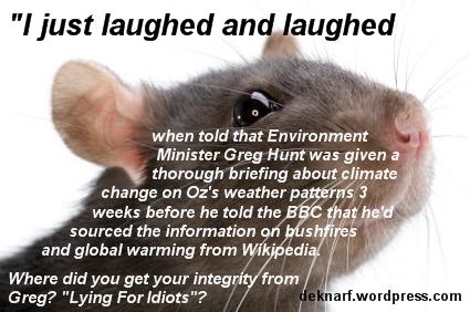 Liar Hunt Rat
