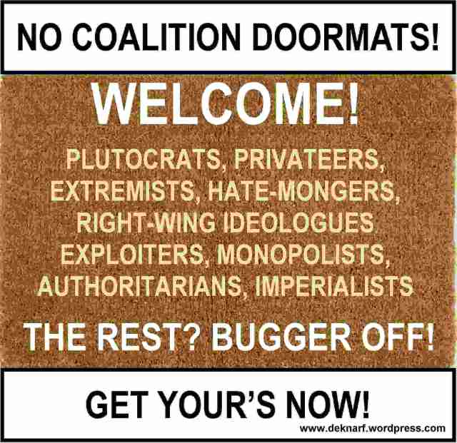 Plutocrat Doormat