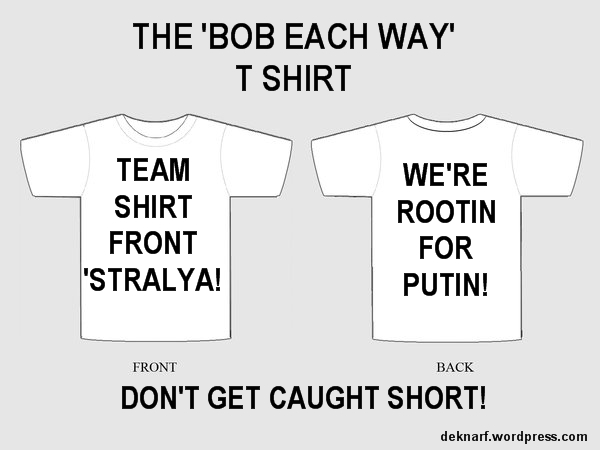 Shirtfront Putin T Shirt