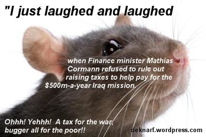 War Tax Rat