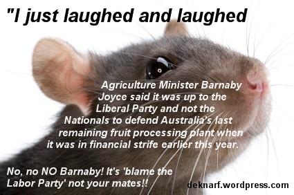 Barnaby Blame Rat
