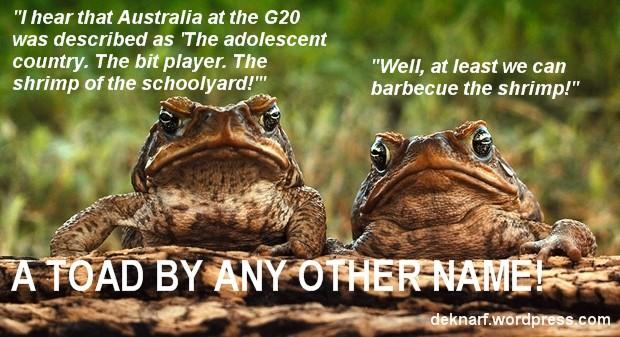 Cringeworthy Toads