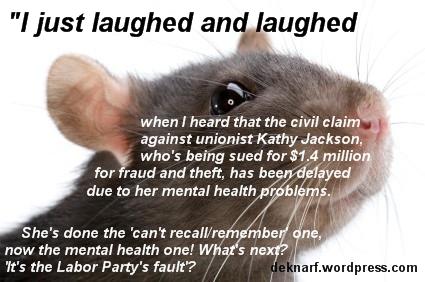 Jackson Fraud Rat