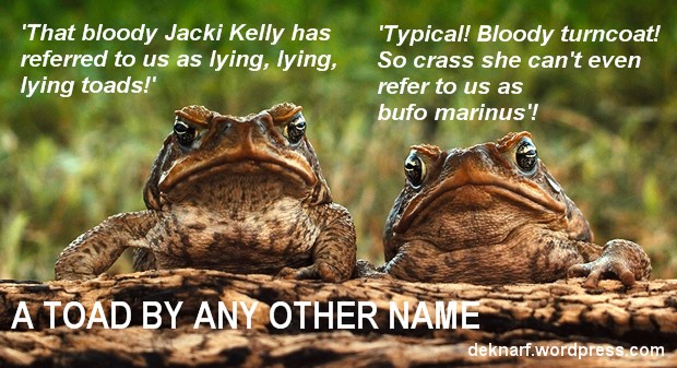 Lying Toads