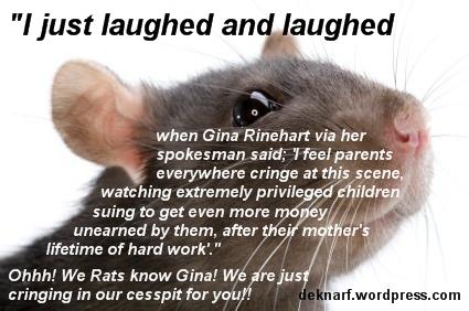 Rhinehart Rat