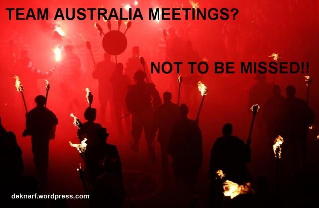 Team Australia Meetings