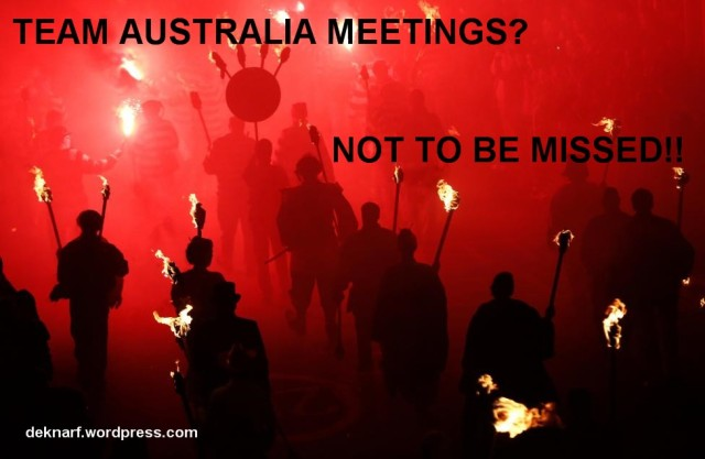 Team Australia Meetings