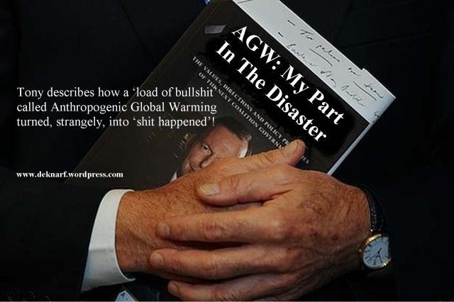 Abbott Book AGW Disaster
