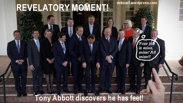 Abbotts Revelatory Moment