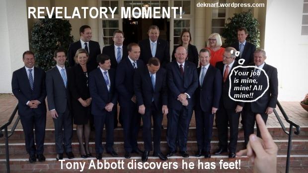 Abbotts Revelatory Moment