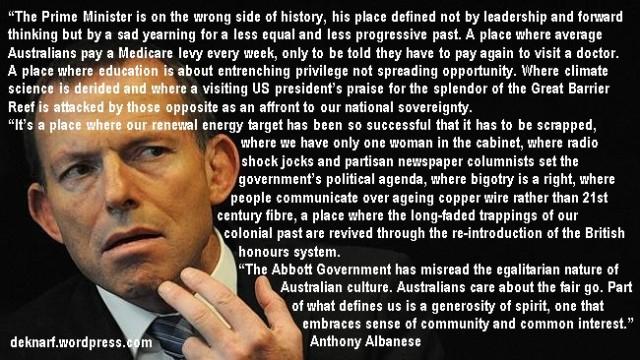 Albanese v Abbott