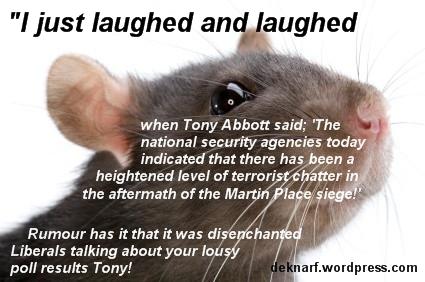 Chattering Terrorist Rat