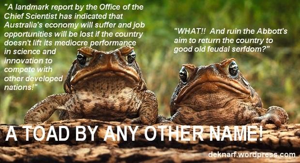Serfdom Toads