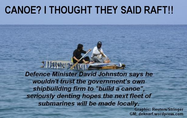 Submarine Canoe