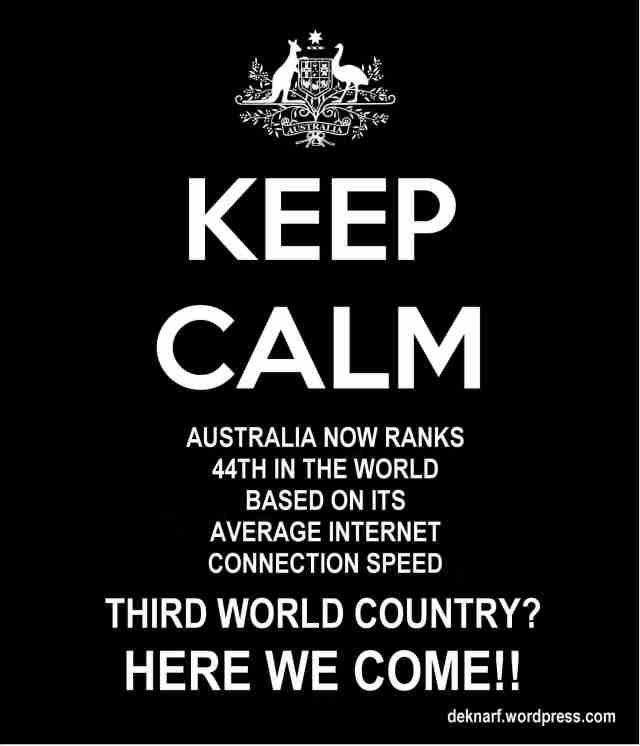 Calm Third World Internet