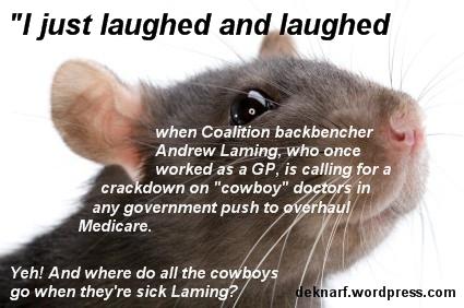 Cowboy Doctor Rat