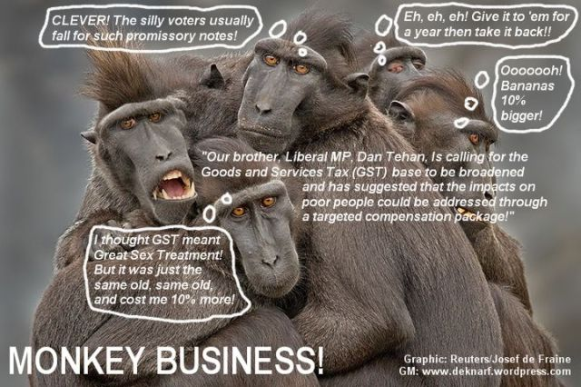 GST Monkey Business
