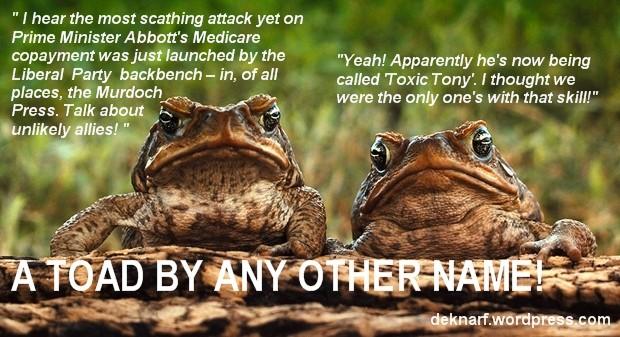 Medicare Toads
