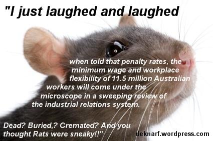 Workchoices Rat