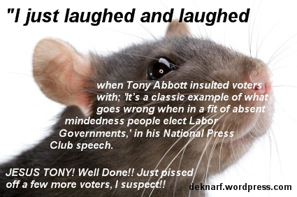 Dopey Voter Rat