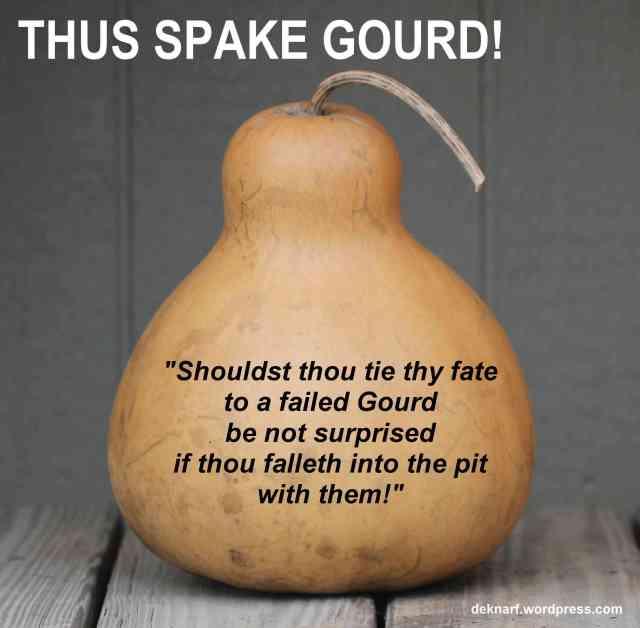 Failed Gourd Gourd