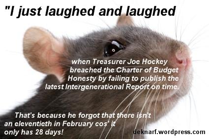 Forgetful Hockey Rat