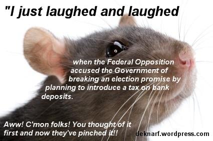Bank Deposit Rat