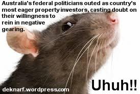 Negative Gearing Rat