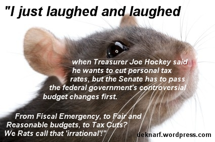 Tax Cut Rat