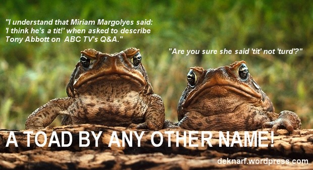Toad Confusion