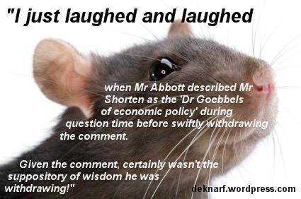 Trusty Goebbels Rat