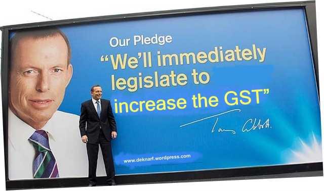 Abbott scrap GST1