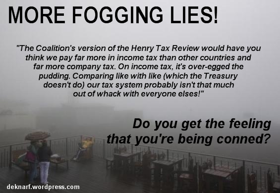 Fogging Lies