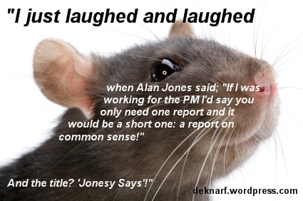 Jonesy Says Rat