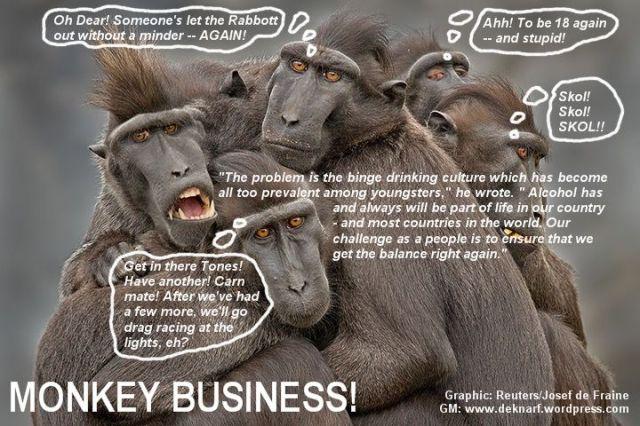 Skol Beer Monkeys