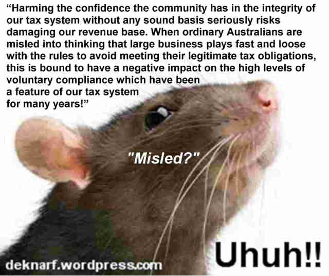 Tax Avoid Uhuh Rat