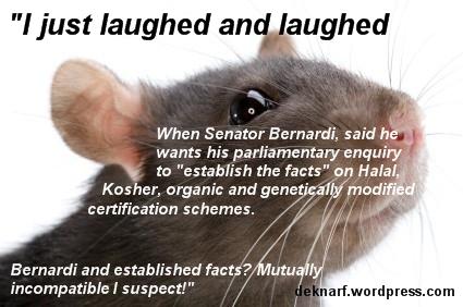 Bernardi Halal Rat