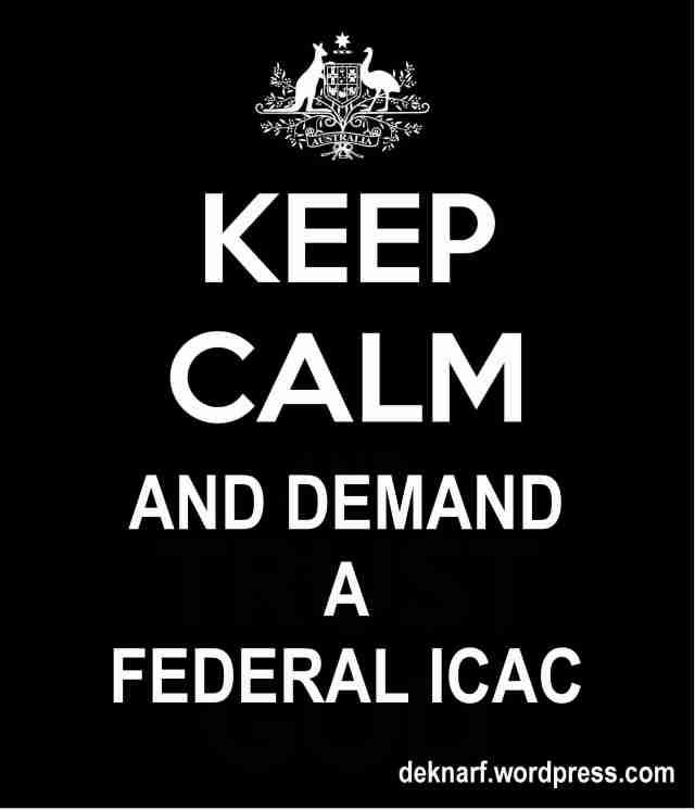 Calm Federal ICAC