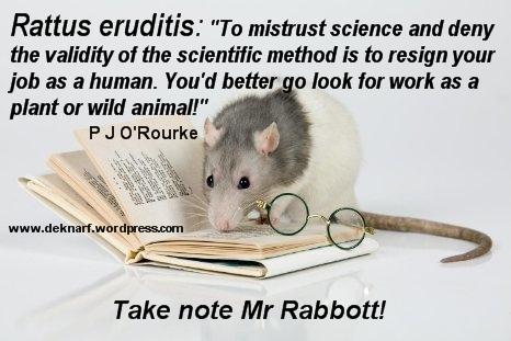 Science Rattus Eruditis