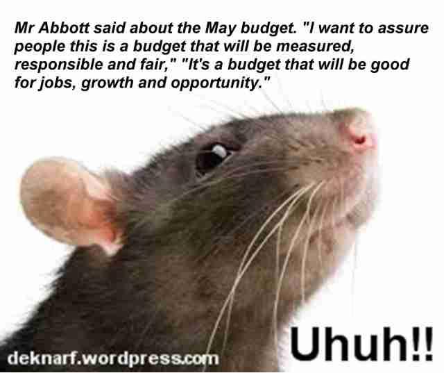 Uhuh Budget Rat