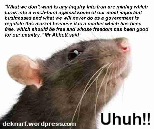 Uhuh Mining Rat