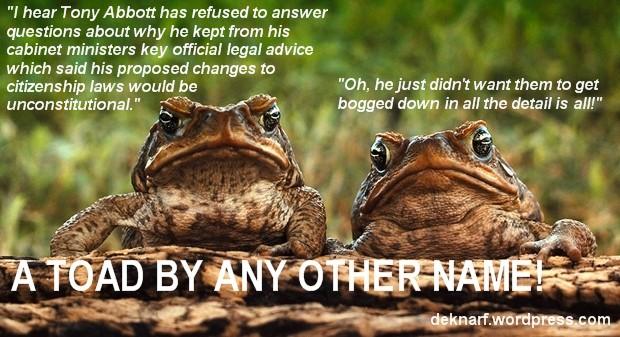 Citizenship Toads