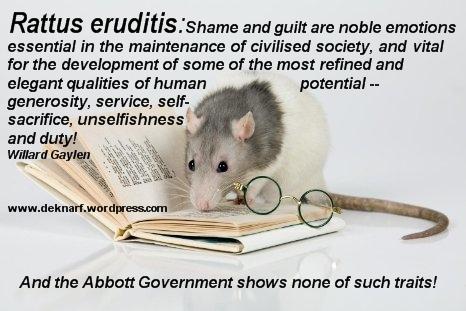 Erudite Rat Shame
