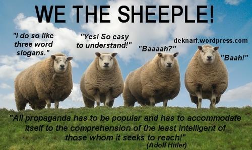 Sheeple Propaganda