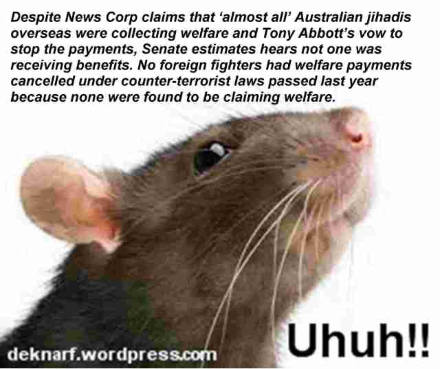 Uhuh Rat Welfare