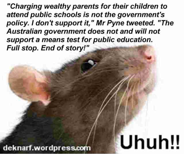 Uhuh School Rat