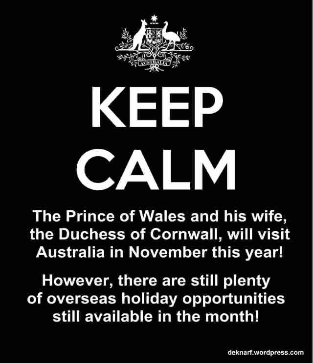 Calm Prince Visit