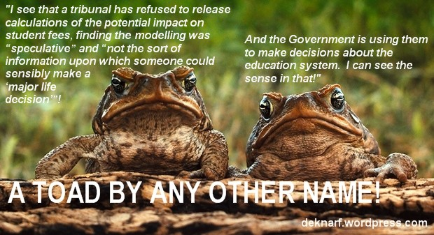 Education Decision Toads